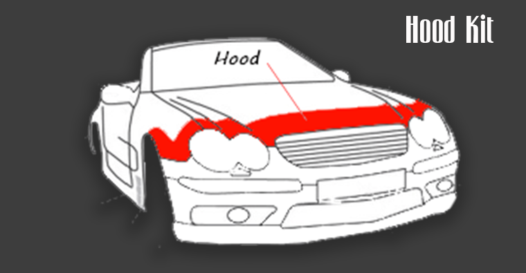 autoshield hood kit